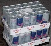 Red...Energy drinks, Bull Energy drinks, Monster energy, XL energy drinks, Shark energy, V energy, R