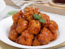 Korean   Style  Fried Chicken (Gangjeong)