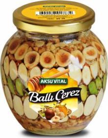 Honey Snacks Almond Walnut Pistachio Hazelnuts Peanuts in Honey Nuts Mix Snack Food