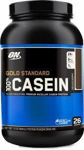 GRADE A !!! Optimum Nutrition - 100% Casein Protein