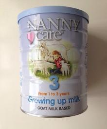 Nanny Care Goat Milk Based Growing Up Milk products,Ireland