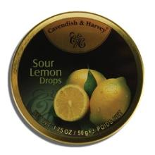 Cavendish &Harvey Lemon Drops 50g