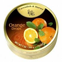 Cavendish & Harvey Fruit Mix Drops Candies 200gr Tin All Flavors Available