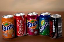 Fanta, Coca Cola, Sprite, Coke, Pepsi