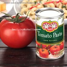 Good Quality Natural Fresh Tin Canned Red Tomato Paste
