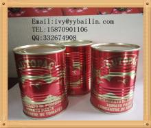 Retail Packing size 400g/425gx24tins/ctn  Can ned  Tomato  Paste