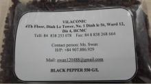 Black pepper 500 gl, 400 gl , 200 gl