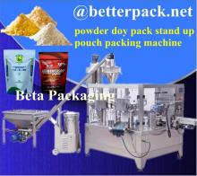 BT-300F stand up pouches packaging machine doy pack machine for whey protein powder