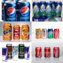 Coca cola, Fanta, Sprite, Pepsi, Cream Soda Energy Drinks