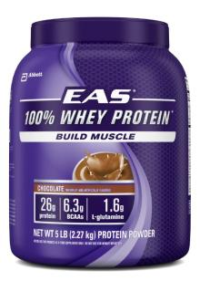 EAS 100% Whey Protein, Chocolate