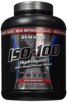 Sell Dymatize ISO100 Hydrolyzed 100% Whey Protein Isolate Strawberry