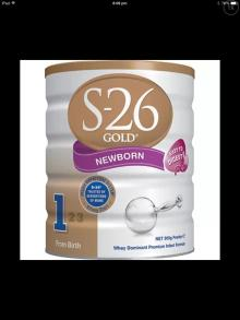 S-26 SMA Gold Wyeth Infant Formula Milk Powder