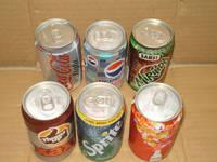 Sprite,Fanta and Schweppes 330ml cans