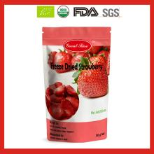 Healthy Freeze Dried Strawberry Chips Without Sugar at Bottom Price