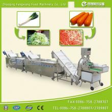 CWA-2000 vegetable cutting and washing line, vegetable cutting and cleaning line,