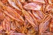 High Quality Seafood Dried Argentina Squid Fish Size LLL