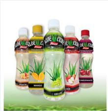 2016 Houssy FDA PET Bottle 360ml Flavored Aloe Vera Juice Drinks