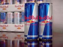 retail store Redbull energy drinks