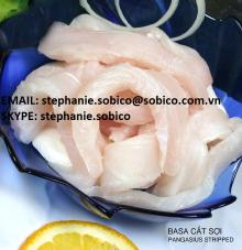 PANGASIUS (basa, tra fish, dory, swai, river fish) FILLET, STRIPPED