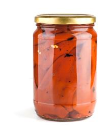Gourmet ala Maison - Roasted peeled red peppers