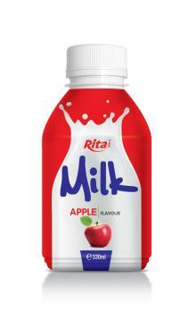 330ml milk Apple Flavour PP bottle