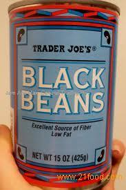 Canned Sweet Black Beans