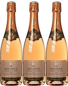 BOUVET Cremant de Loire, BOUVET Tresor and BOUVET de Loire Rose 750ml Bottles Available