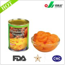 Manufacture of canned mandarin orange segment in ls