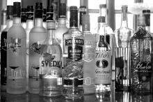 Vodka in different flavors from Holland