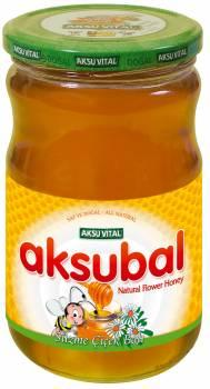 Natural Turkish Honey Flower Polyflora Honey in 460 gr Glass Jar