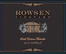 2013 ROWSEN VINEYARD SHIRAZ
