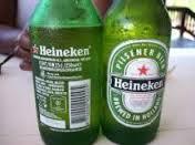 Heinikens lager beer 250ml Heinekens beer in bottles of 250ml direct