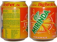 Grade A Fanta / Orange Soft Drinks 24