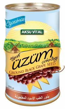 Ground Grape Seeds Powder 250 gr Health Functional Food