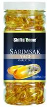Garlic Oil in Capsules Nutrition Supplement