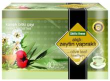 Olive Leaf Tea Olive Leaf Extract and Hawthorn flower Mixed Herbal Health Tea 40 bags GMP Certificat