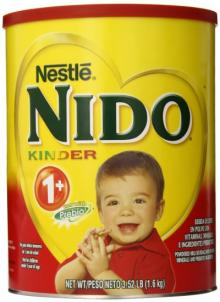 Nestle Nido 1+,2+,3+ Milk Powder