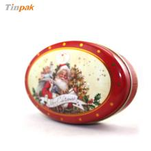 cheap small oval tin box for candies