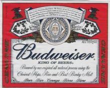 BUDWEISSER BEER (4X6X33 CL)