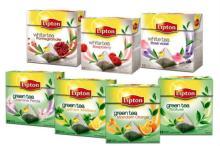 lipton pyramids tea