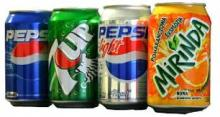Soft Drink Coca - Fanta- Sprite Can 330ml