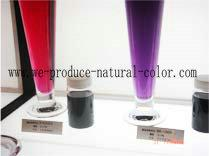 Anthocyanin purple sweet potato red colorant