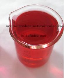 candy using food colorant beetroot red