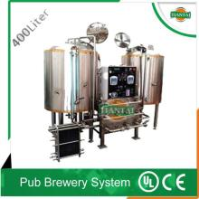 400L per batch beer brewery system supplier