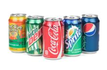 Coca cola, Fata, Pepsi, and Other Soft drinks available
