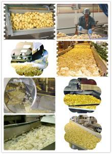 Large Scale Potato Chips Production Line