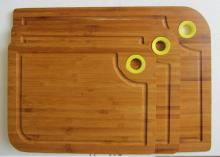 Bread and Cheese Bamboo  Cutting   Board