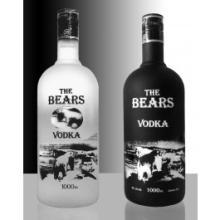 THE BEARS VODKA,40%,1 Litre