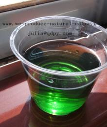 chlorophyll natural green colorant
