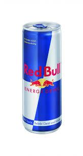Bull Energy Drink Red / Blue Silver